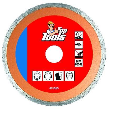 Toр Tools Алмазный диск - сплошной Инструменты - РЕЖУЩИЙ инструмент - Диски алмазные