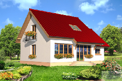 140 LMP 80 - design for 40 m2 small houses