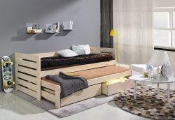 Детская деревянная кровать Tomasz выдвижная - Кровати двухъярусные - Детская комната