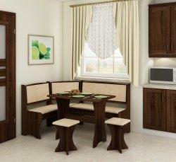 Кухонный уголок с 2 табуретами - Польша - MEBLOCROSS - Кухонные уголки - Мебель для столовой