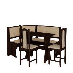 Кухонный уголок с 2 креслами - Польша - MEBLOCROSS - Кухонные уголки - Мебель для столовой