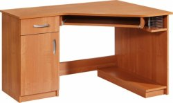 Стол компьютерный угловой Carmen - Польша - MEBLOCROSS - Столы компьютерные - Столы и комплекты