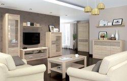 CASTEL 5 гостиная - Гостиные Модерн - Секции, Витрины, Полки