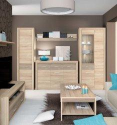 CASTEL 6 гостиная - Гостиные Модерн - Секции, Витрины, Полки