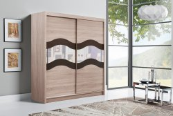 ALMA I warderobe with mirror - Wardrobes with sliding doors - Cupboards, Commodes