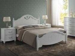 Malta 160 gulta - Gultas no koka - Guļamistaba