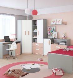 IQ молодежная комната 1 - Польша - ML Meble - Подростковые, молодежные комплекты - Детская комната