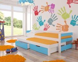 Fraga двухместная кровать выдвижная - Кровати двухъярусные - Детская комната