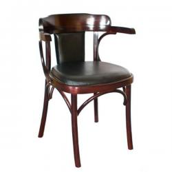 Венское кресло Roza (с мягким сиденьем) Мебель для столовой комнаты Венские стулья
