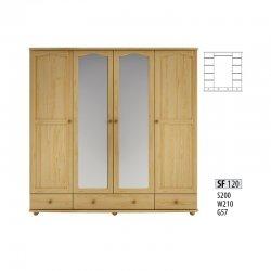SF120 шкаф - Шкафы четрырехдверные - Шкафы и Комоды, Шифоньеры