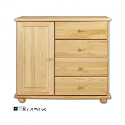 KD118 chest of drawers