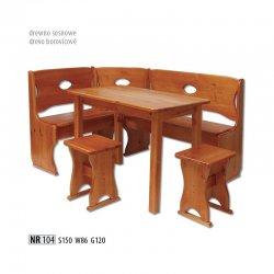 NR104 кухонный уголок - Польша - Drewmax - Кухонные уголки - Мебель для столовой