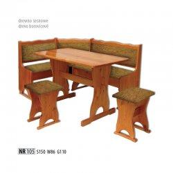 NR105 кухонный уголок - Польша - Drewmax - Кухонные уголки - Мебель для столовой