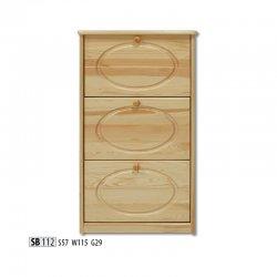 SB112 обувной шкафчик - Шкафчики для обуви - Прихожие и Гардеробы