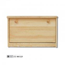 SB117 обувной шкафчик - Шкафчики для обуви - Прихожие и Гардеробы