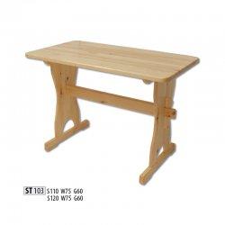 ST103 деревянный стол 120 - Польша - Drewmax - Деревянные столы - Столы и комплекты