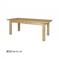 ST107 деревянный стол - Польша - Drewmax - Деревянные столы - Столы и комплекты