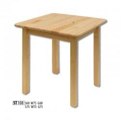 ST108 деревянный стол 75 - Польша - Drewmax - Деревянные столы - Столы и комплекты
