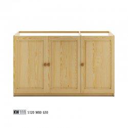 KW111 нижний шкафчик - Нижние шкафчики - Кухни модульные