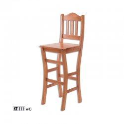 KT111 деревянный барный стул - Польша - Drewmax - Барные стулья - Разные стулья