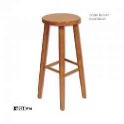 KT241 деревянный барный стул - Польша - Drewmax - Барные стулья - Разные стулья