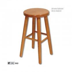 KT242 деревянный барный стул - Польша - Drewmax - Барные стулья - Разные стулья
