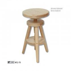 KT243 деревянный барный стул - Польша - Drewmax - Барные стулья - Разные стулья