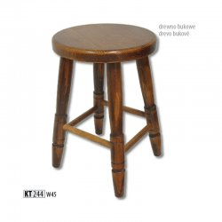 KT244 деревянный табурет - Польша - Drewmax - Табуретки - Разные стулья