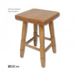 KT245 деревянный табурет - Польша - Drewmax - Табуретки - Разные стулья