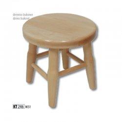 KT246 деревянный табурет - Польша - Drewmax - Табуретки - Разные стулья