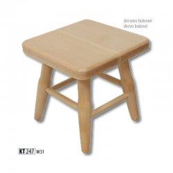 KT247 деревянный табурет - Польша - Drewmax - Табуретки - Разные стулья