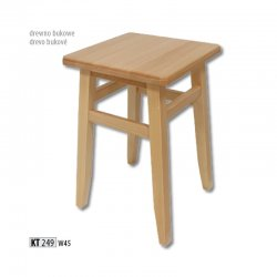 KT249 деревянный табурет - Польша - Drewmax - Табуретки - Разные стулья