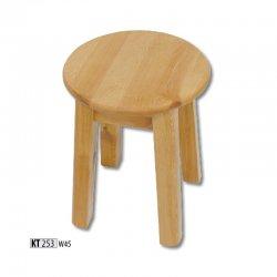 KT253 деревянный табурет - Польша - Drewmax - Табуретки - Разные стулья