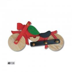 AD130 вешалка мотоцикл - Польша - Drewmax - Вешалки для одежды - Детская комната