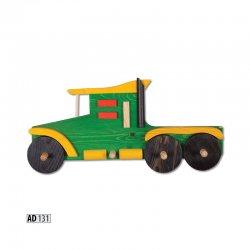 AD131 вешалка грузовик - Польша - Drewmax - Вешалки для одежды - Детская комната
