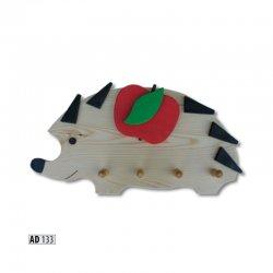 AD133 вешалка ежик - Польша - Drewmax - Вешалки для одежды - Детская комната
