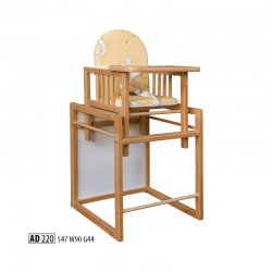 AD220 стульчик для кормления - Польша - Drewmax - Стульчики для кормления - Детская комната
