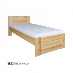 LK121 wooden bed - Poland - Drewmax - Wooden beds - Bedroom