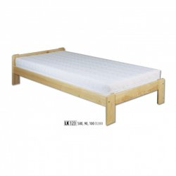 LK123 wooden bed - Poland - Drewmax - Wooden beds - Bedroom