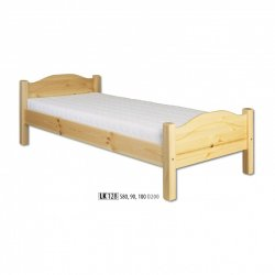 LK128 wooden bed - Poland - Drewmax - Wooden beds - Bedroom