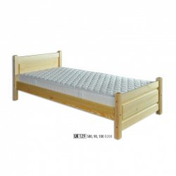 LK129 wooden bed - Poland - Drewmax - Wooden beds - Bedroom