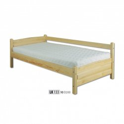 LK133 wooden bed - Poland - Drewmax - Wooden beds - Bedroom