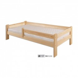 LK137 wooden bed - Poland - Drewmax - Wooden beds - Bedroom