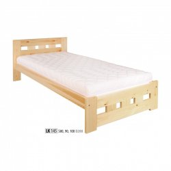 LK145 wooden bed - Poland - Drewmax - Wooden beds - Bedroom