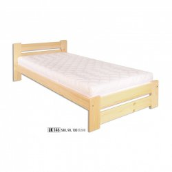 LK146 wooden bed - Poland - Drewmax - Wooden beds - Bedroom