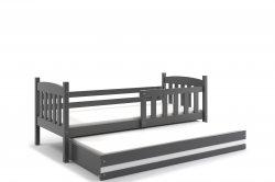 KUBUS 200 двухместная детская кровать выдвижная - Кровати двухъярусные - Детская комната