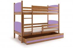 Trible bunk bed TAMI 190 bunk bed Bunk beds