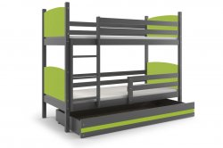 TAMI 160 bunk bed Trible bunk bed Bunk beds