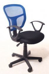 Armchair Peggy Blue - BS - Office chairs - Furniture at WAREHOUSE