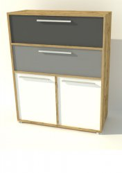 Joy T42 chest of drawers - Poland - Hoffer - Commodes Ambrys - Childrens room